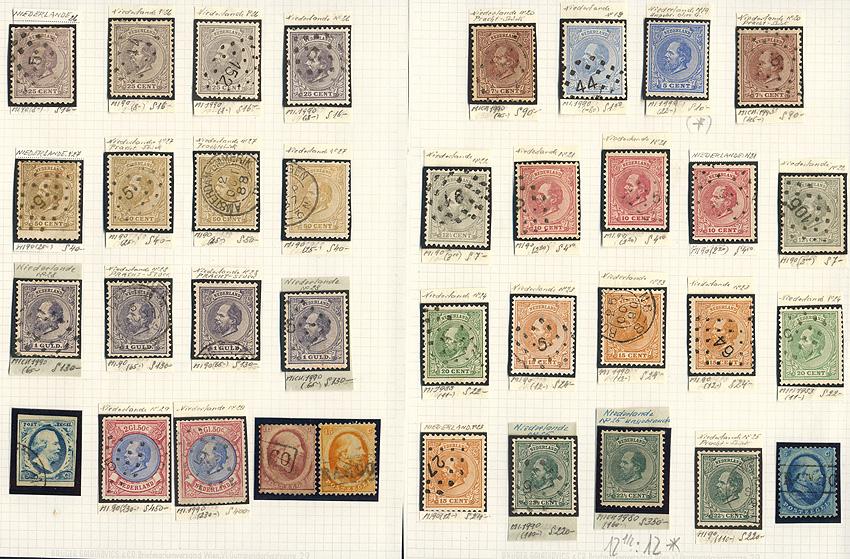 Lot 337 - Netherlands  -  Merkurphila OG Auction #36