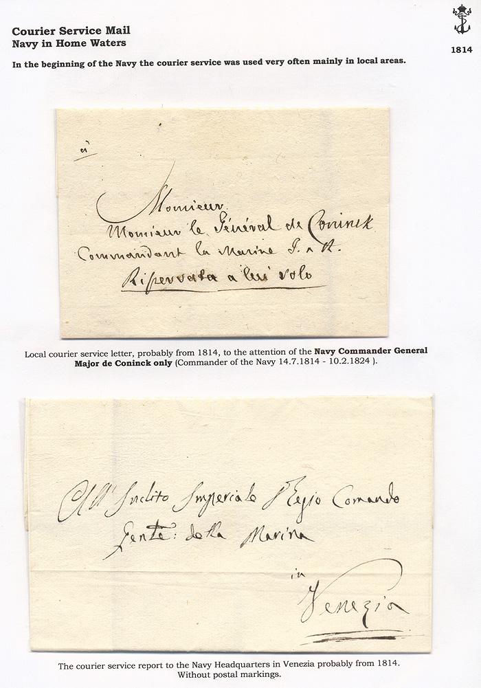 Lot 1 - Imperial (and) Royal Navy  -  Merkurphila OG Auction #36