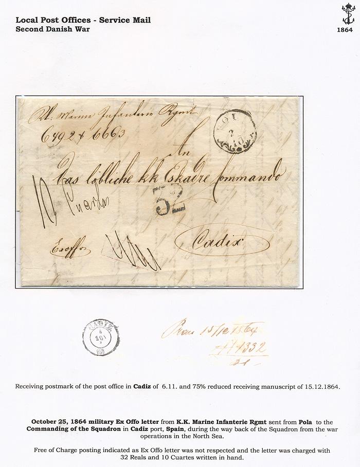 Lot 16 - Imperial (and) Royal Navy  -  Merkurphila OG Auction #36